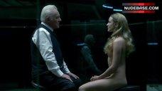 Evan Rachel Wood Naked Sitting on Chair – Westworld