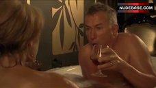 2. Diana Glenn Naked in Bathroom – Satisfaction