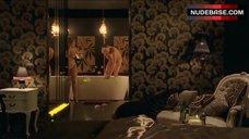 3. Diana Glenn Naked in Bathroom – Satisfaction
