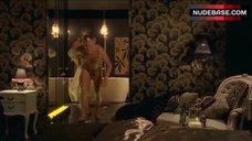 4. Diana Glenn Naked in Bathroom – Satisfaction