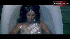 Patricia Velasquez Topless in Bathtub – Liz In September