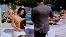 Amy Weber Topless Sunbathing – Forbidden Games
