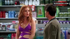 Alicia Witt Hot Scene – Two And A Half Men