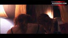 5. Alicia Witt in Black Bra – Joint Body