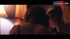6. Alicia Witt in Black Bra – Joint Body