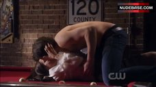 6. Gina Holden Hot Scene – Life Unexpected