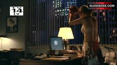 Kyra Sedgwick in Lingerie – The Closer