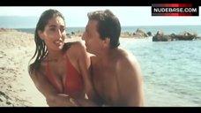 Caterina Murino Bikini Scene – The Corsican File