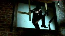 Hot Joan Severance in Latex Bodysuit – Black Scorpion