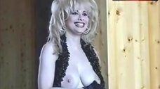 Rhonda Shear Boobs Scene – Rhonda Shear Photoshoot: Behind The Scenes
