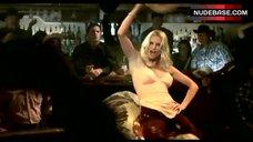 Hot Nicollette Sheridan on Mechanical Bull – Desperate Housewives