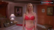 Nicollette Sheridan in Hot Red Underwear – Desperate Housewives
