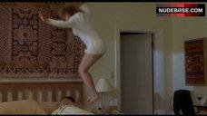 Elisabeth Shue Flashes Lingerie – Hollow Man