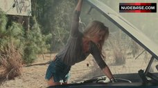 Amber Heard in Sexy Jeans Shorts – Drive Angry 3D