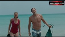 Amber Heard in Wet Swimsuit – The Rum Diary