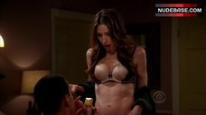 Marin Hinkle Lingerie Scene – Two And A Half Men