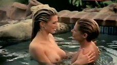 Amber Smith Shows Boobs in Lesbian Scene – Crime Scene