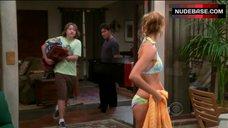 Tricia Helfer Bikini Scene – Two And A Half Men