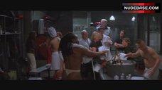 Yolanda Hughes-Heying Topless in Thong – Rollerball