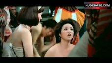 6. Shirley Yu Nude on Floor – Love Swindlers