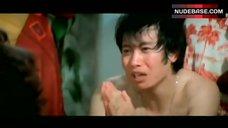 8. Shirley Yu Nude on Floor – Love Swindlers