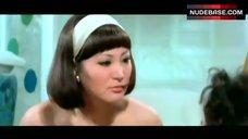 9. Shirley Yu Nude on Floor – Love Swindlers
