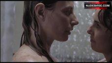 8. Ana Serradilla Lesbian Scene – La Otra Familia