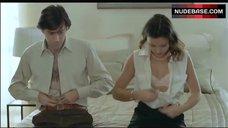 1. Virginie Ledoyen in Lingerie – Shall We Kiss?