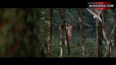 Virginie Ledoyen Naked in Forest – The Backwoods