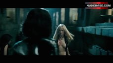 Kaja Gjesdal Breast Through Open Shirt – Underworld: Evolution