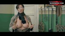 5. Janet Mcteer Shows Nude Boobs – Albert Nobbs