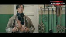 6. Janet Mcteer Shows Nude Boobs – Albert Nobbs
