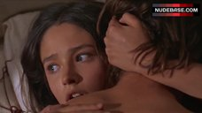 1. Olivia Hussey Boobs Scene – Romeo And Juliet