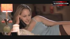 Leelee Sobieski Lying in Bed – Joy Ride