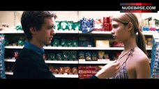 1. Irene Bagach Topless in Grocery Store – Cashback