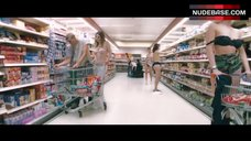 7. Irene Bagach Topless in Grocery Store – Cashback