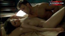 1. Caroline Ducey Real Sex Scene – Romance