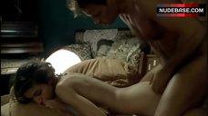 4. Caroline Ducey Real Sex Scene – Romance