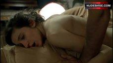 9. Caroline Ducey Real Sex Scene – Romance