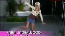 5. Sara Jean Underwood in Playboy – The Girls Next Door