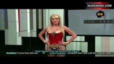Sara Jean Underwood in Hot Costume – Attack Of The Show!