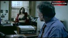Pollyanna Mcintosh Shows Tits in Black Bra – Headspace
