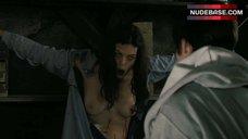 Pollyanna Mcintosh Nude Boobs – The Woman