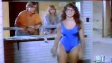 Kristin Davis in Blue Swimsuit – E! True Hollywood Story