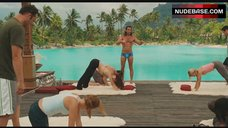 5. Kristin Davis Sexy Stretching – Couples Retreat