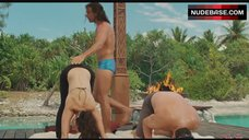 6. Kristin Davis Sexy Stretching – Couples Retreat