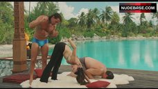 8. Kristin Davis Sexy Stretching – Couples Retreat