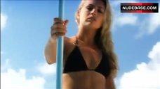Heather Storm in Sexy Black Bikini – Lost Treasure Of The Maya