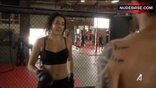 3. Natalie Martinez in Sports Bra – Kingdom