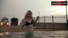Jodie Whittaker Swimming in Underwear – The Smoke